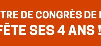 4 ANS CENTRE DE CONGRES DE L'AUBE