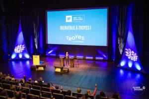 Conférence MP2 dans l'Audito du Centre des Congrès de Troyes
